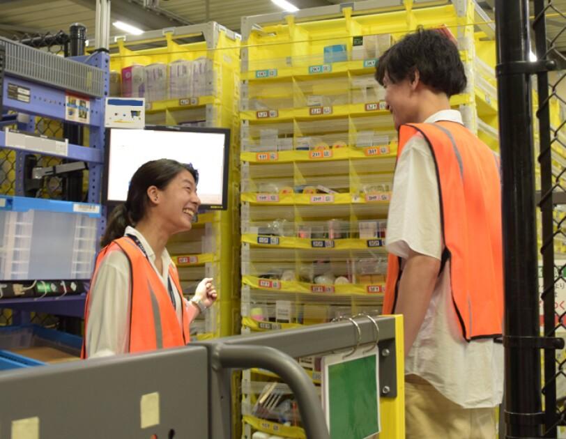 Amazonを支える物流拠点での仕事