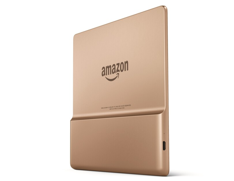 The All new Kindle Oasis comes in Graphite and Champagne Gold color options.