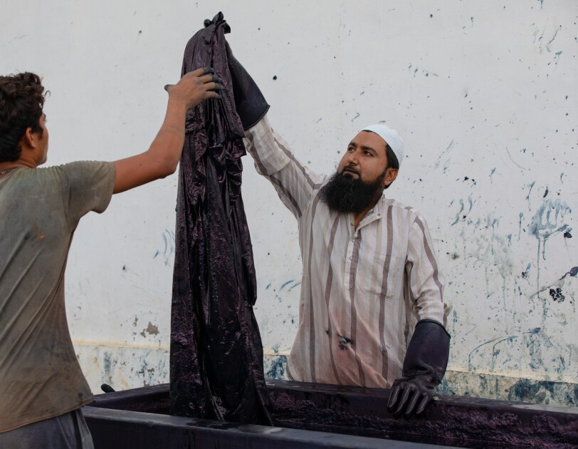 Sufiyan Khatri, master artisan, Indigo House