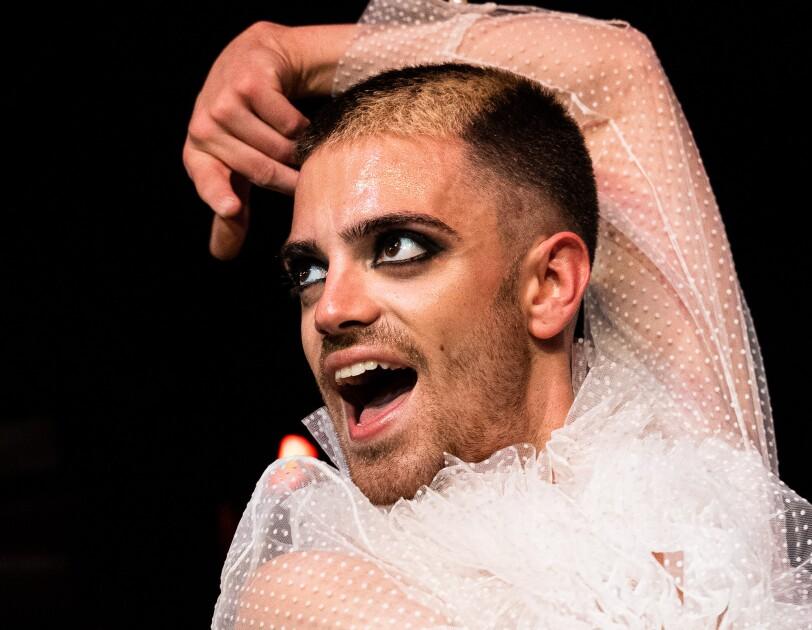 Amazon Stars winner Ruben with Project Flamenco Queer