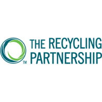 Logo of the Recycling Partnership, an Amazon Sustainability partner