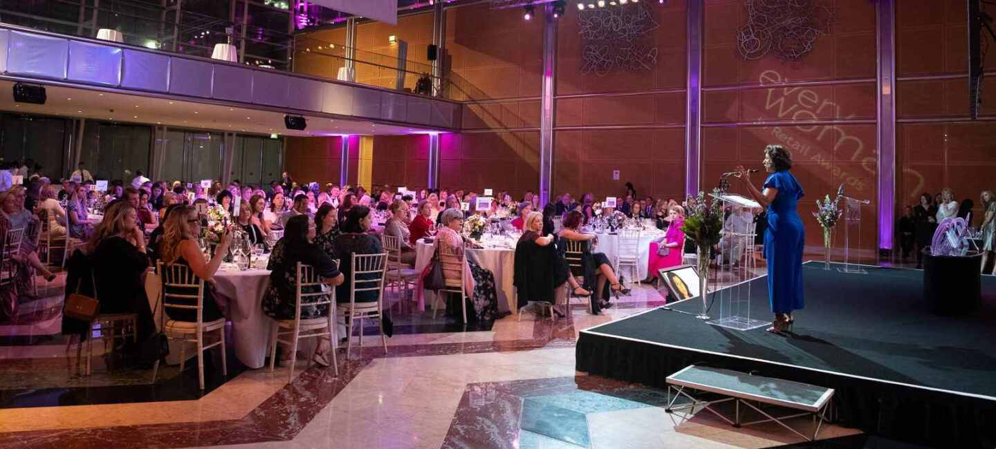 A room view of attendees at the everywoman in retail awards