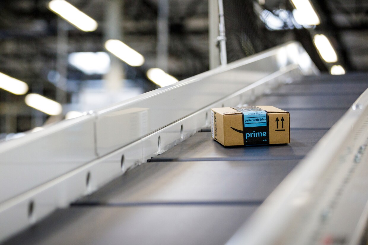 Amazon Fulfillment Center BFI4 in Kent, Washington.