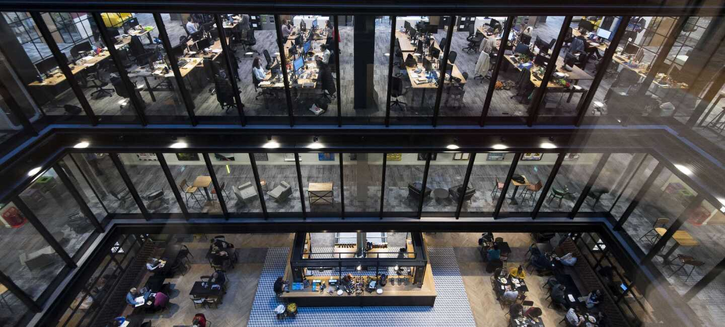Inside our UK head office in Shoreditch, East London