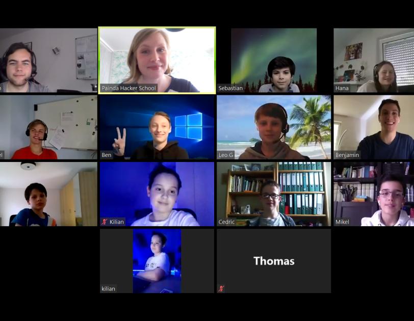 Hacker School: Gruppenfoto der Teilnehmer