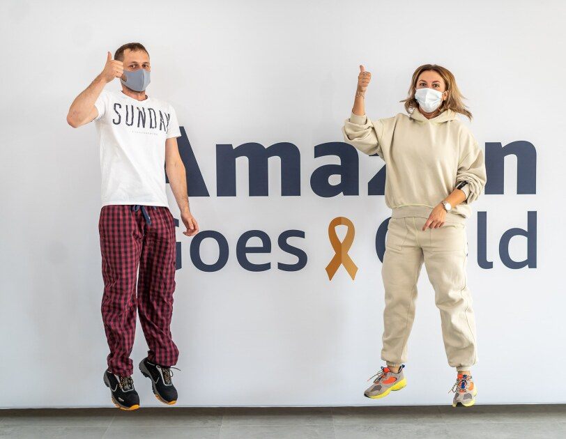 Amazon Goes Gold, Pracownicy Amazon w Polsce