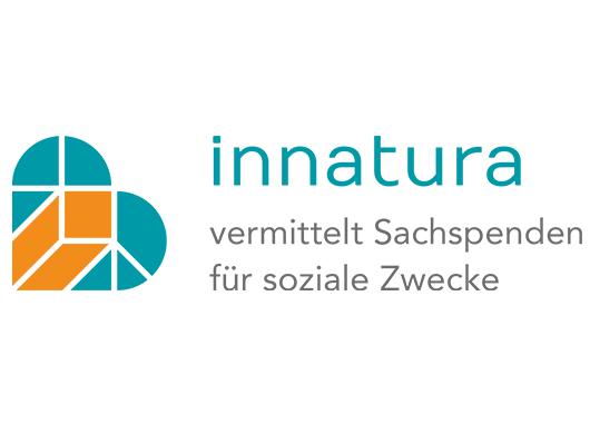 Innatura: vermittelt Sachspenden für soziale Zwecke logo