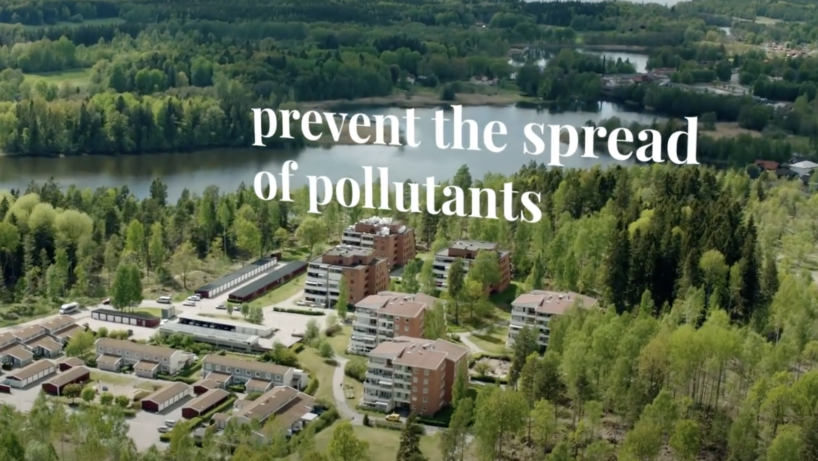Sustainability in Europe- Water Conservation in Sweden, emphasizing prevention of pollution spread