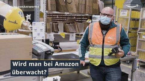 Amazon antwortet 2021: Überwacht Amazon die Mitarbeiter:innen?