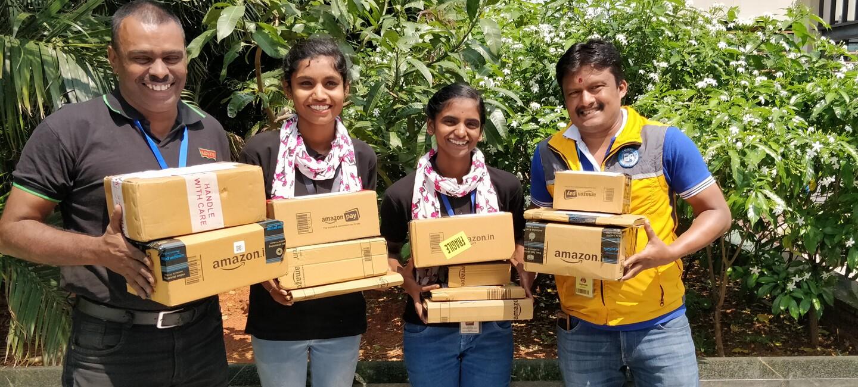 Happy customers Amazon India