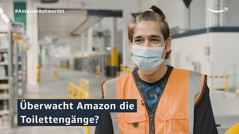 Amazon antwortet 2021: Keiner zählt mit, wie oft ich zur Toilette gehe