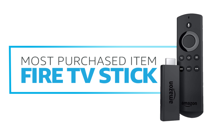 Fire TV Stick was most purchased item