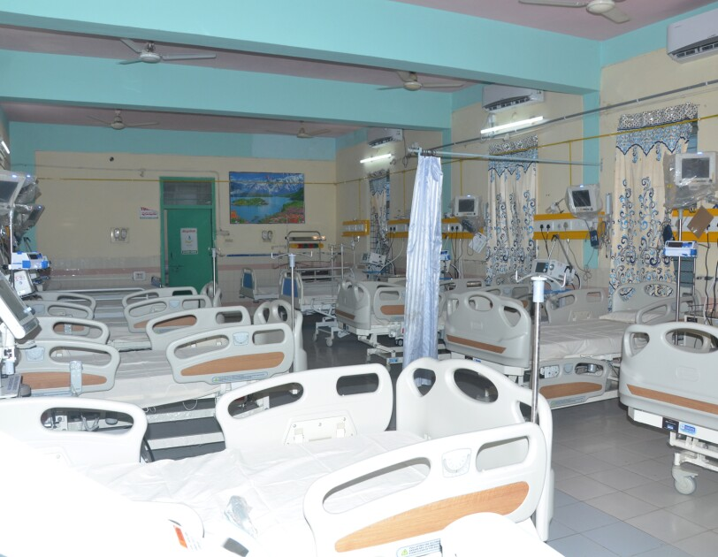 ICU at Kondapur by set up by AWS