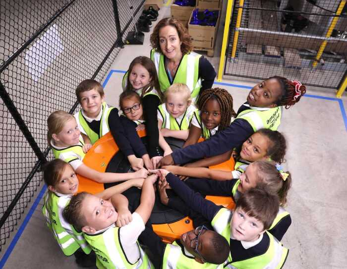 Amazon Future Engineer - Robotics Workshop, Tilbury fulfilment centre