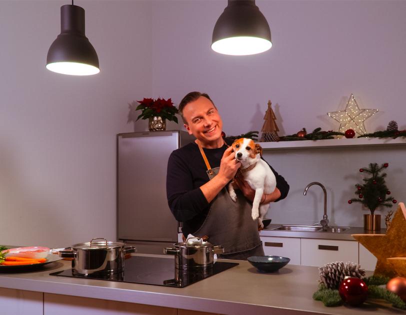 Tim Raue kocht für seine Hündin Shirley