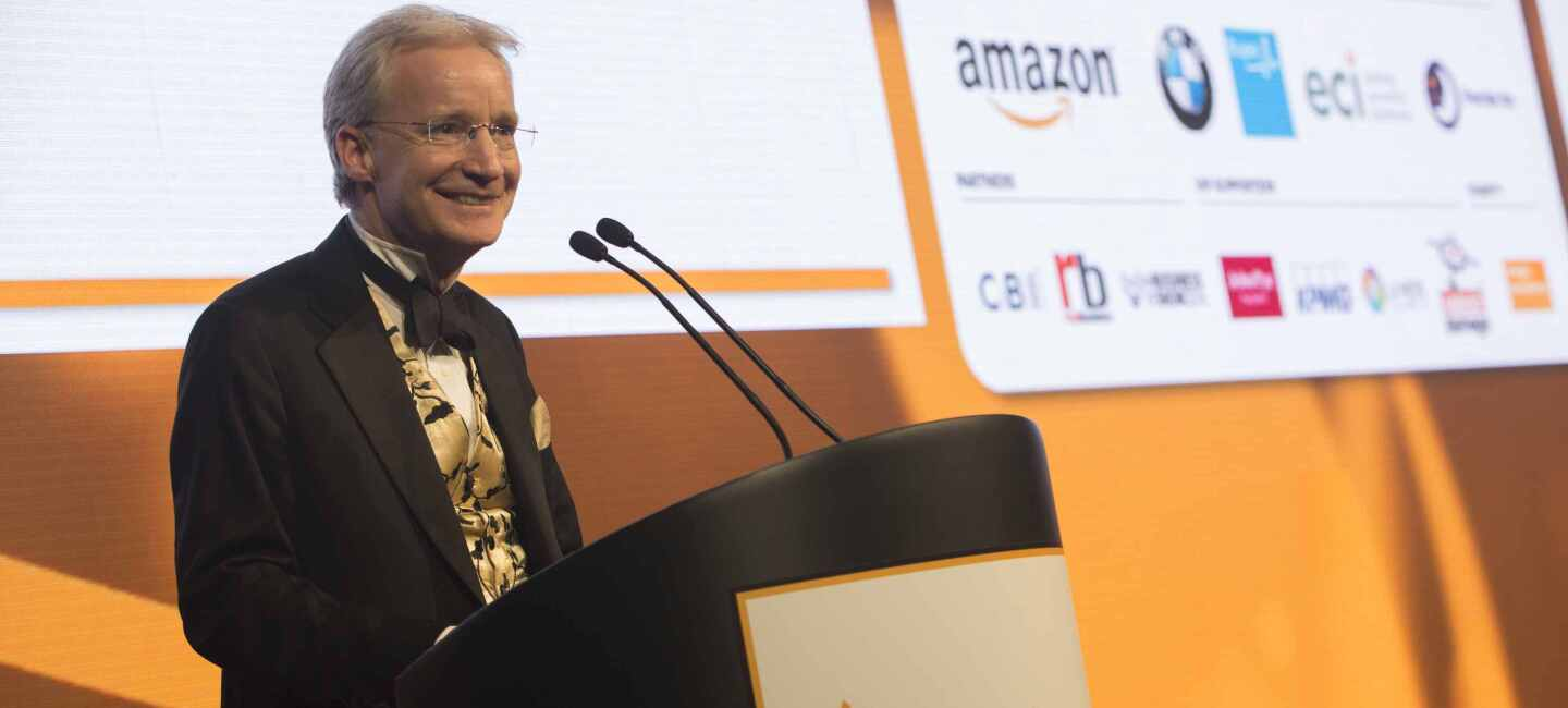 Doug Gurr, speaking at the Amazon Growing Business Awards