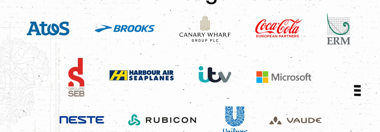 Atos, Brooks, Canary Wharf Group, Coca Cola European Partners, ERM, Groupe SEB France, Harbour Air, ITV, Microsoft, Neste, Rubicon, Unilever e Vaude si uniscono al Climate Pledge