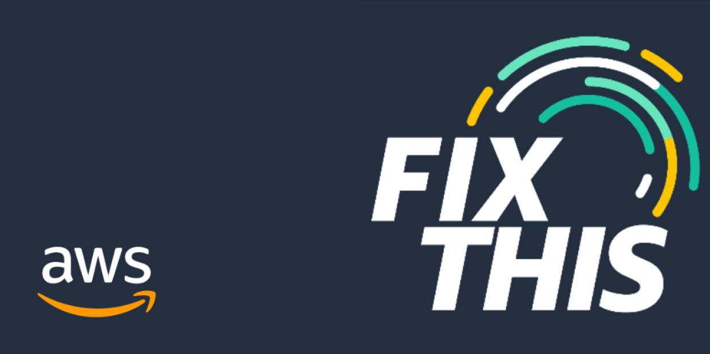 AWS Fix This Podcast logo