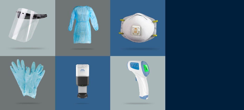Über Amazon Business können Gesundheits- und Sicherheitsprodukte eingekauft werden.