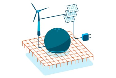 Devices - Illustration of energy
