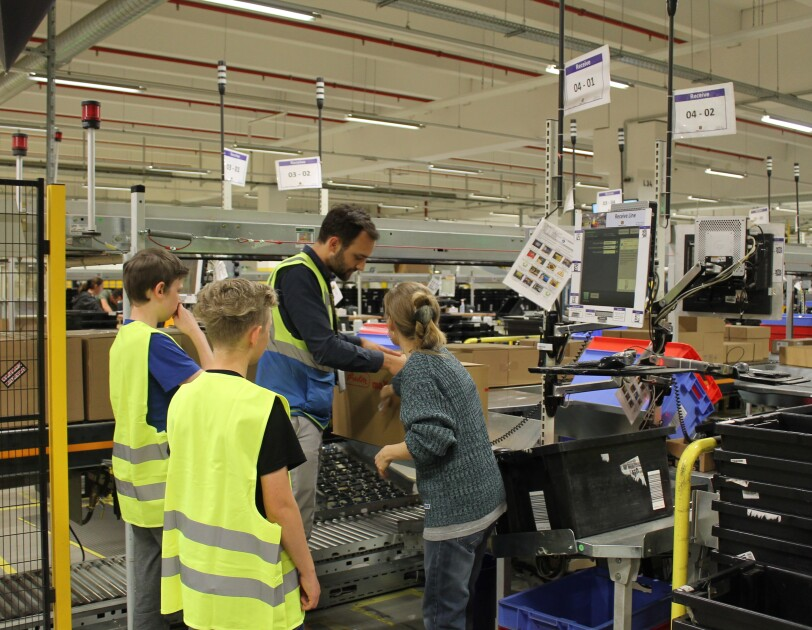 Girls and Boys Day 2018 CGN1 Kids bei FC Tour