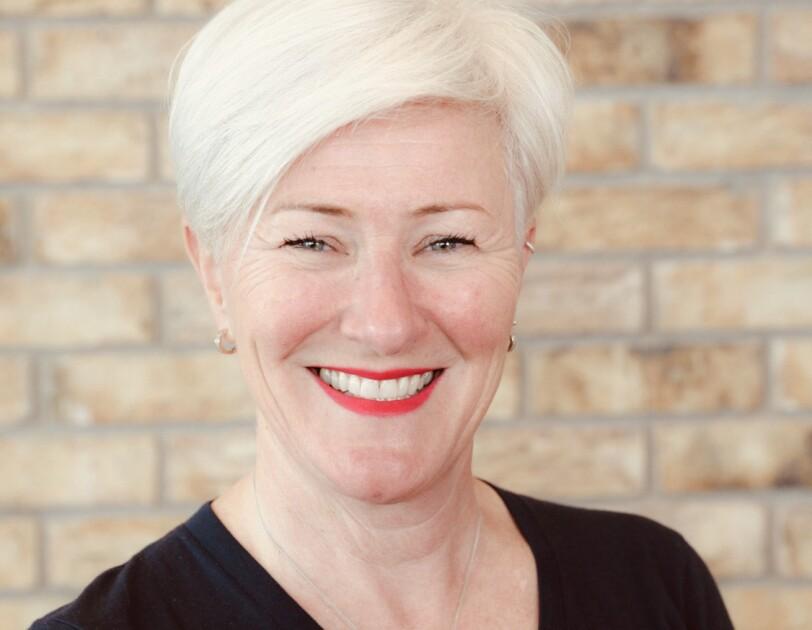 Headshot of Gillian Russell, Amazon's Senior Program Manager of Global Military Affairs