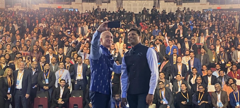 Selfie revised at Smbhav