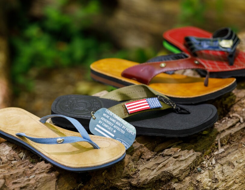 At a campsite, on a beach, even urban sidewalks these sandals are hard to beat.