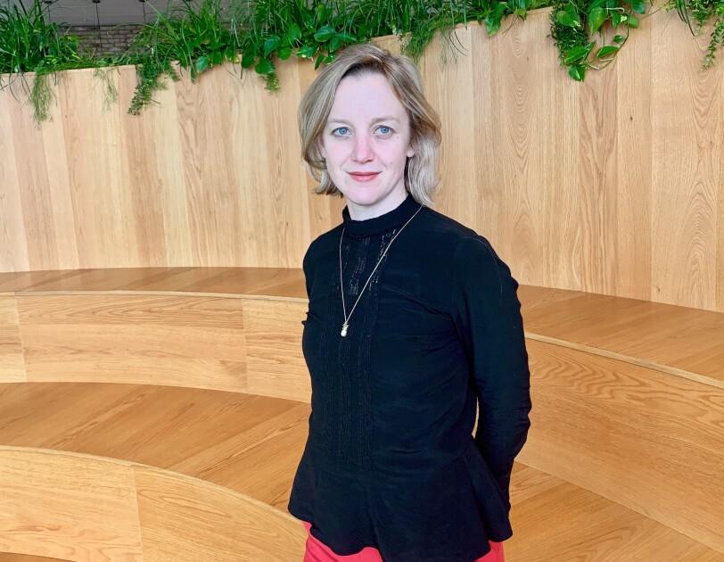 Eloise Smith, Group Creative Director, Amazon EU profile shot