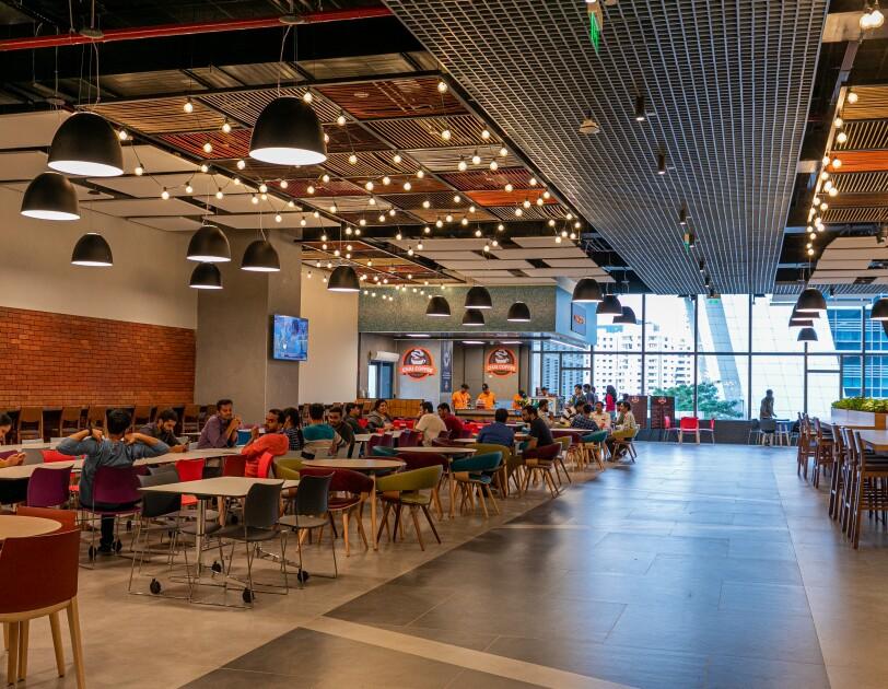 Cafeteria at Hyd campus