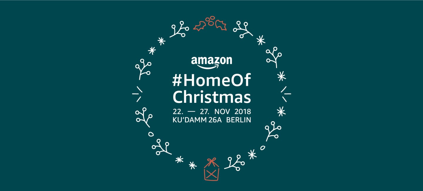 Der erste Amazon Pop Up Store in Deutschland.