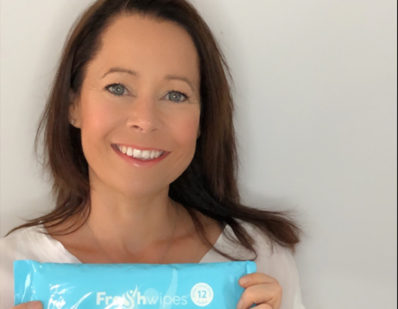 Fresh Wipes - Liz Barnes - Founder - 2