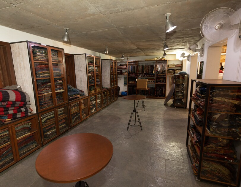 Ajrakh Studio at Ajrakhpur