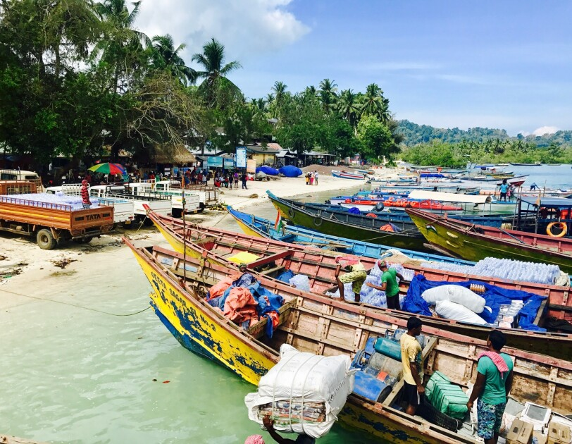 Delivery to Andaman & Nicobar Islands