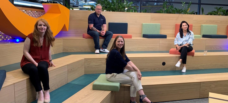 Amazon Career Day 2021 panel