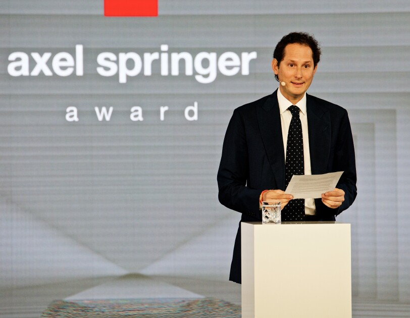 Axel Springer Award