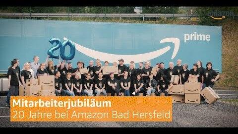 20 Jahre Amazon in Bad Hersfeld