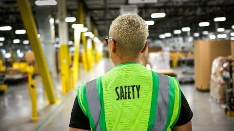 Amazon's new tech for warehouse safety