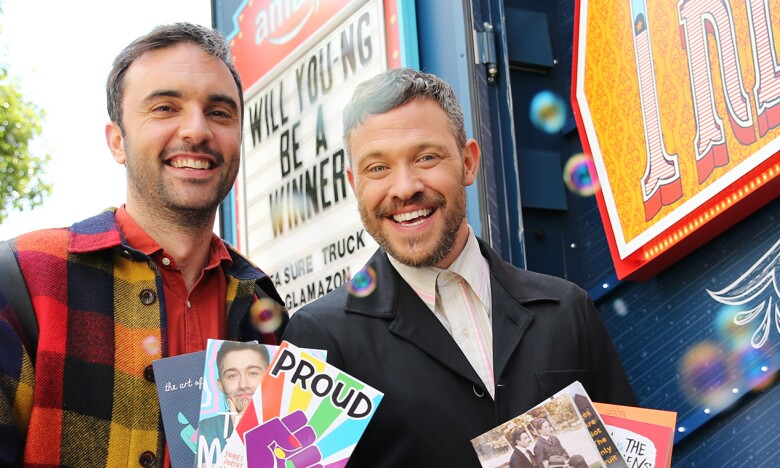 Will Young and Chris Sweeney from Homo Sapiens
