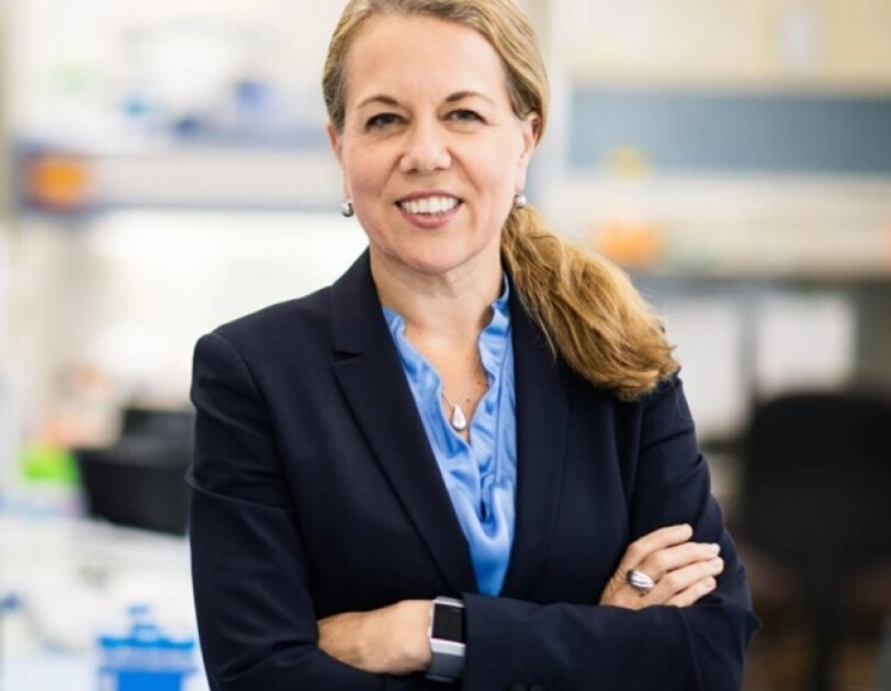 Picture of Dr. Bollard, director of the Center for Cancer and Immunology Research at Children's National Hospital in Washington, D.C.