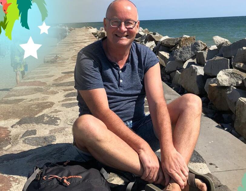 Urlaubsfoto von Peter am Meer