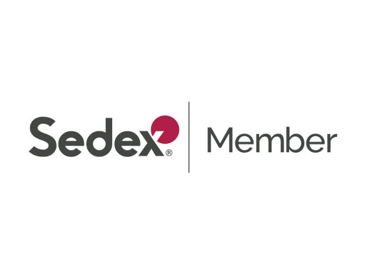 The Sedex: Member logo. Sedex is an Amazon Sustainability partner.