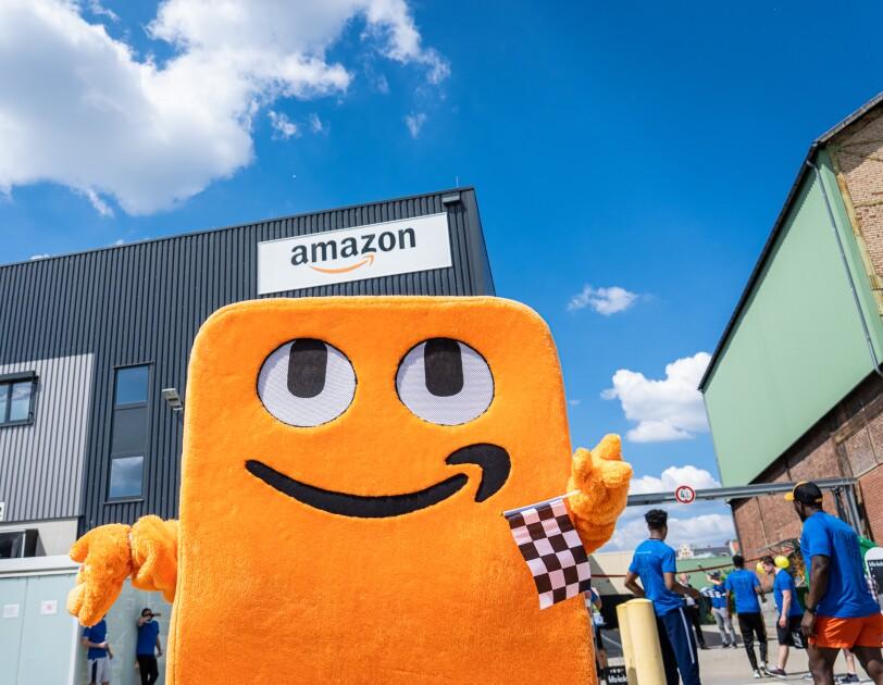 Amazon Fun Run Week mit Box-Legende Axel Schulz die Kinder der Arche unterstützen