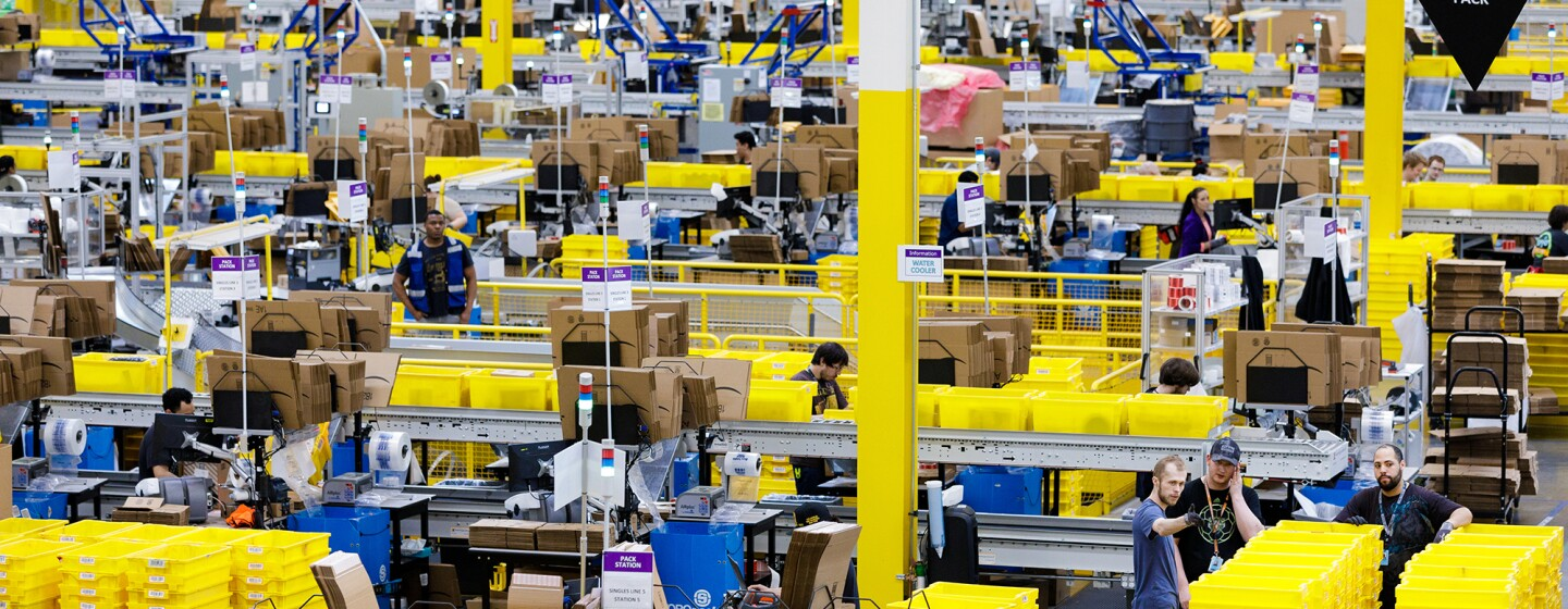Centri di distribuzione di Amazon