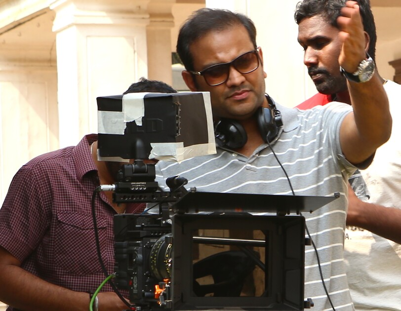 Mayank Sharma, director of 'Breathe'