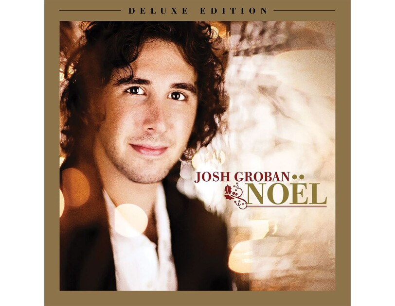 "Album cover for ""NOEL"" by Josh Groban"