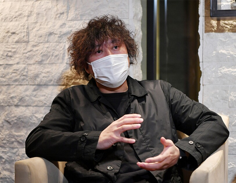 MONKEY MAJIK インタビュー中のメンバー