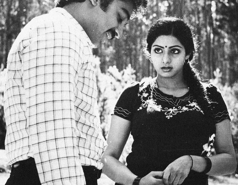 A still from Sadma, released in 1983