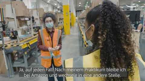 Next Level: Wie Amazon Mitarbeiter:innen in der Logistik beruflich durchstarten