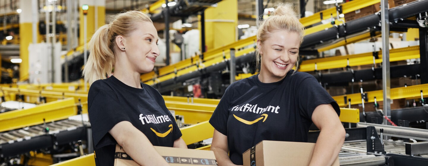 Amazon fulfillment center associates
